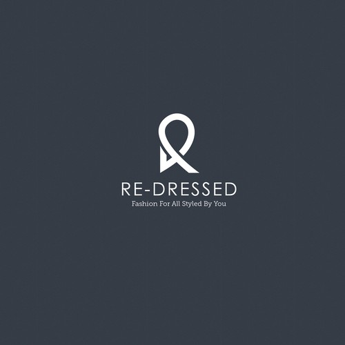 Redressed logo design