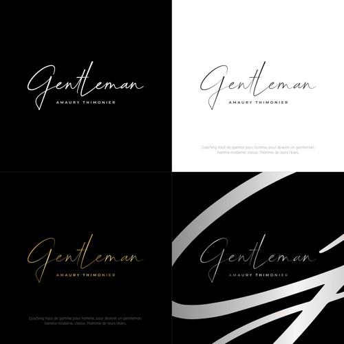 Concept de logo pour Gentleman - Développement personnel