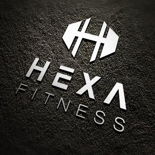 Logo  for Hexa fitness