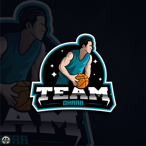Logo Esport for Basketball Club