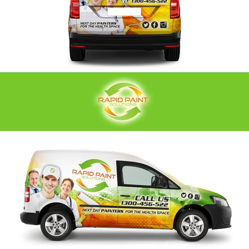 Want to transform the traditional Painters vehicle advertising?