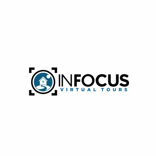 Logo design for InFocus Virtual Tours
