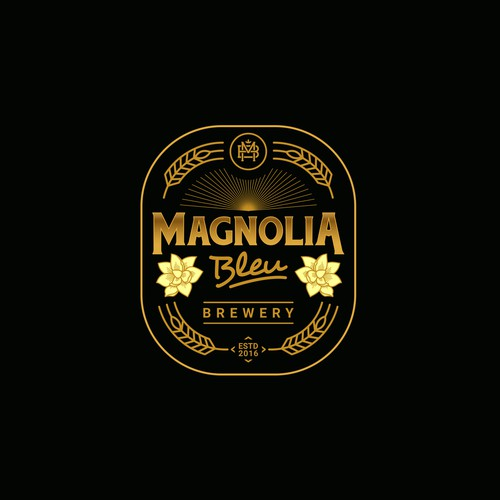 Logo concept for Magnolia Bleu