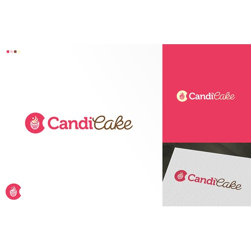 Fun & Modern cupcake inspired logo needed CandiCake!!