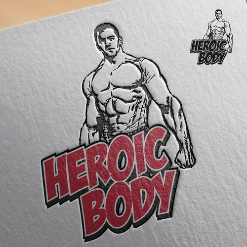 Heroic Body Logo Design