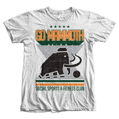 GO Mammoth needs a FRESH NEW CLUB T-SHIRT!!
