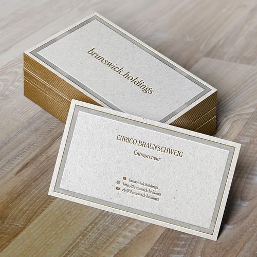 (Fast) private Businesscard für branchenunabhängigen Unternehmer