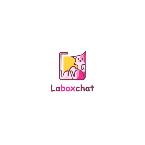 Logo Design for La box chat - v1