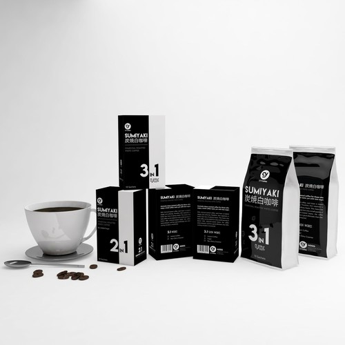 Sumiyaki Coffee Packaging