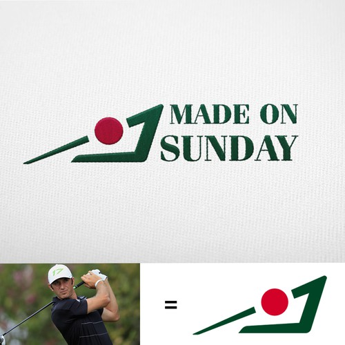 made on sunday golf logo