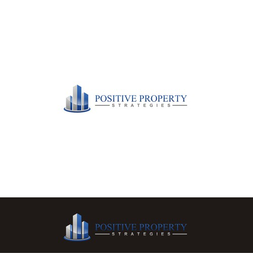 Create a modernised logo for Positive Property Strategies