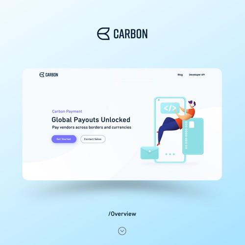 Carbon Payment Web Page