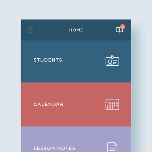 App for student course