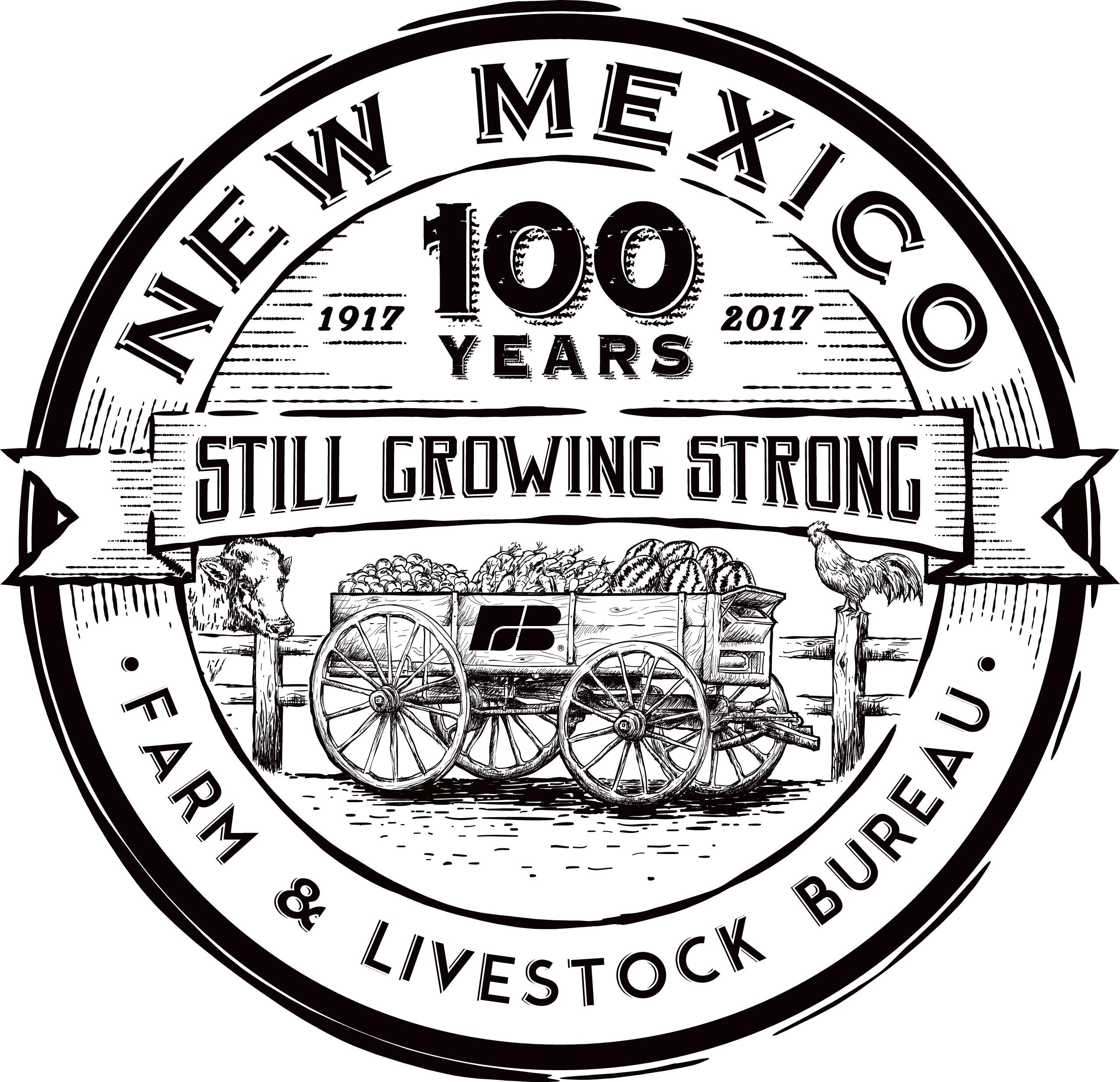 Create a 100th Anniversary Logo for New Mexico Farm & Livestock Bureau