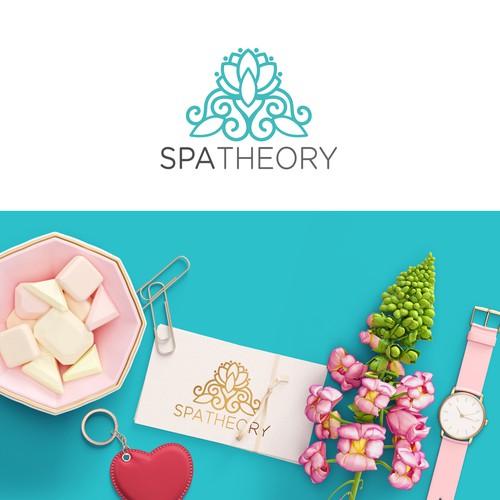 Luxury logo for an on-demand salon service app