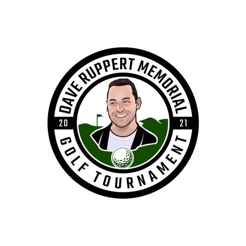 Dave Ruppert Memorial Golf Tournament Logo