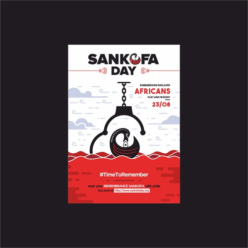 Eyecatching Flyer for Sankofa Day