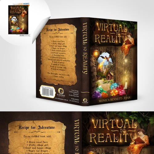 Book Cover VIRTUAL to REALITY