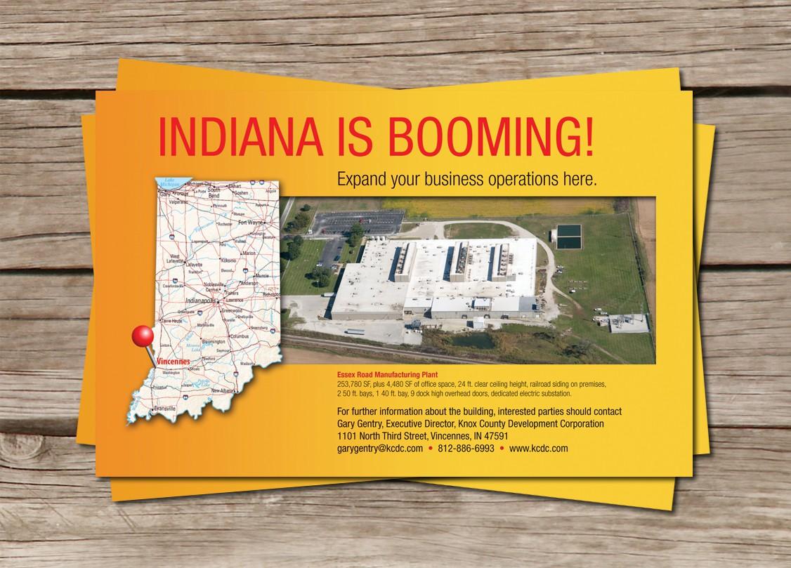 postcard or flyer for Hoosier Energy