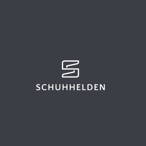 schuhhelden logo concept