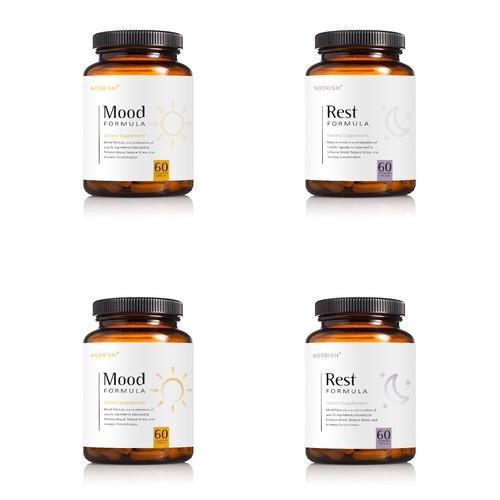 Supplement packaging design