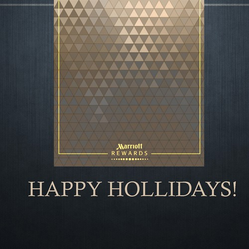 Christmas card for hotel