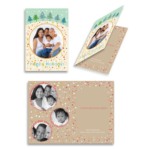 "Picaboo Folded 5"" x 7"" Holiday Cards (will award up to 20 designs!)"