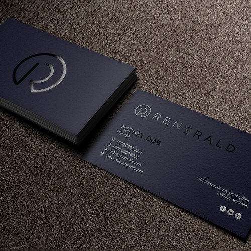 Sophisticated Business Cards