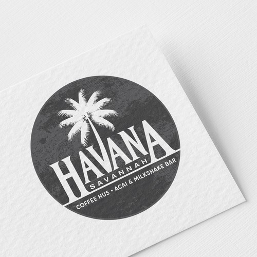 Logo design for Havana Savannah Coffee House.