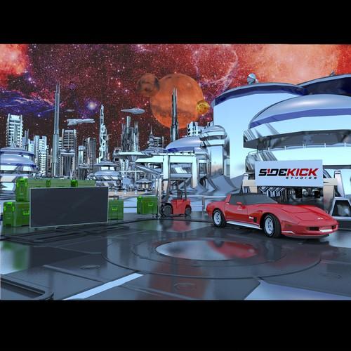 Exterior Sci-fi design