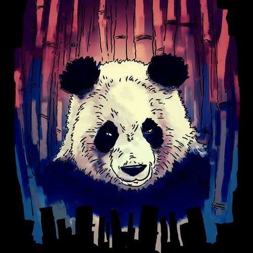 Panda for shirts