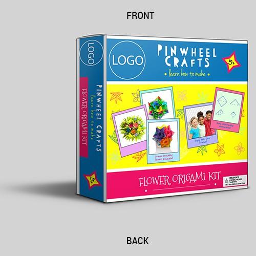Packaging design for origami kit