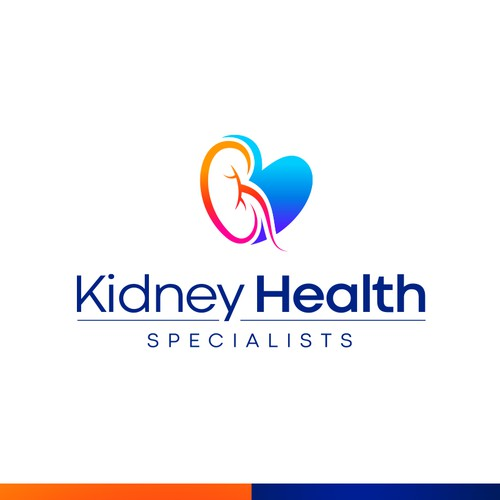 Kidney and Health medical service logo