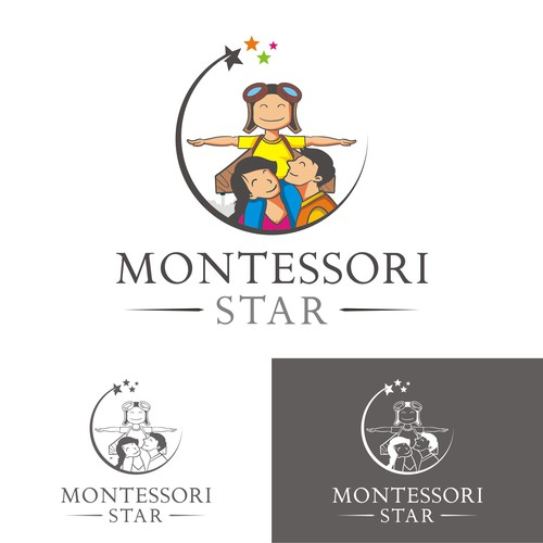 logo for Montessori Star