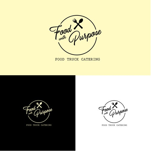 Logo Concept for Food With Purpose