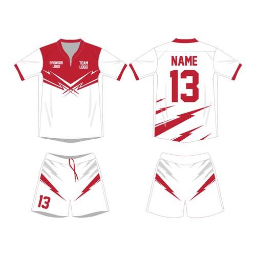 thunder jersey design