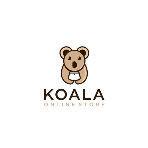 koala and bag