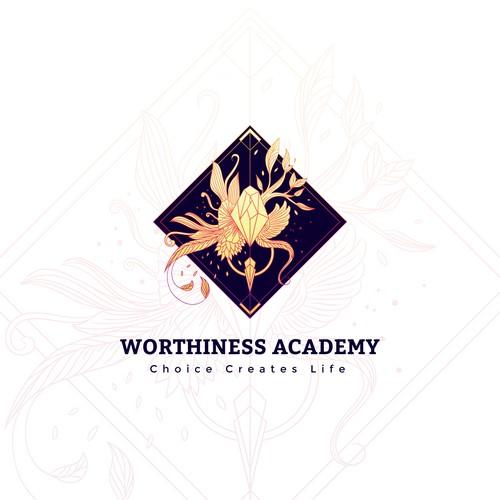 Logo concept for spiritual academy