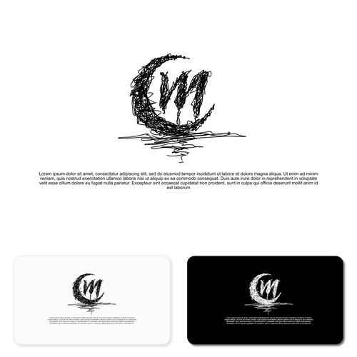 Logo Design With Monogram CM