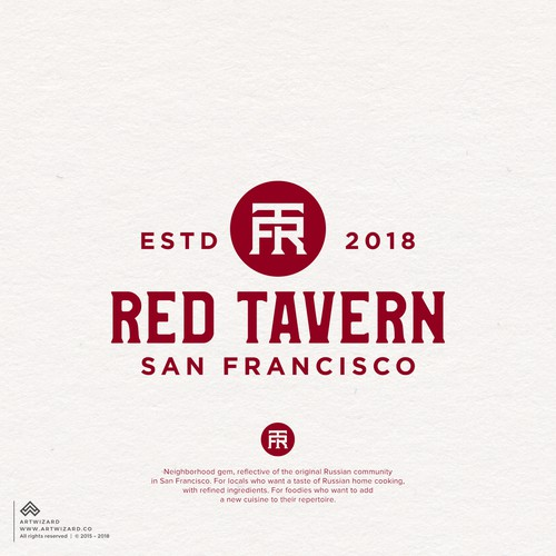 Rustic Logo for Red Tavern