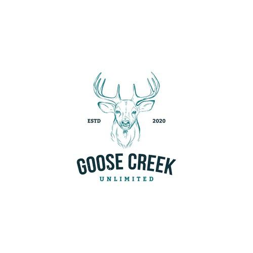 Logo design for deer farm
