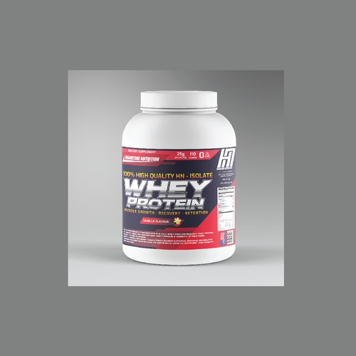 Product Label Gym Supplement