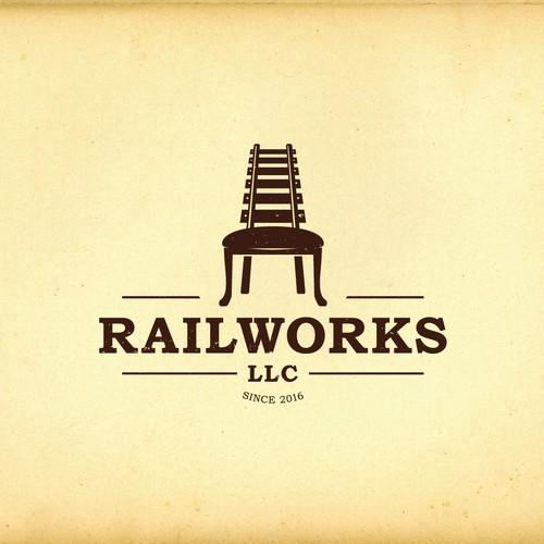 Clever logo for Railworks llc
