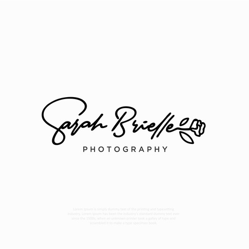 Sarah Brielle signaure logo project