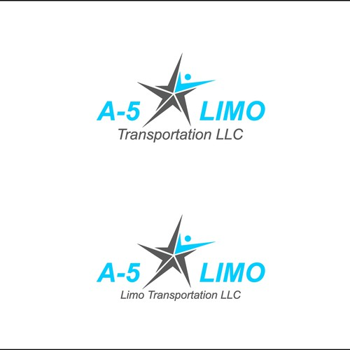 a-5 Limo Transportation LLC Logo Design