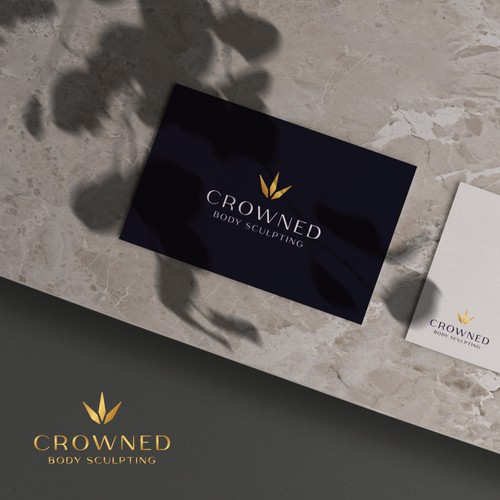 Crowned Body Sculpting Logo