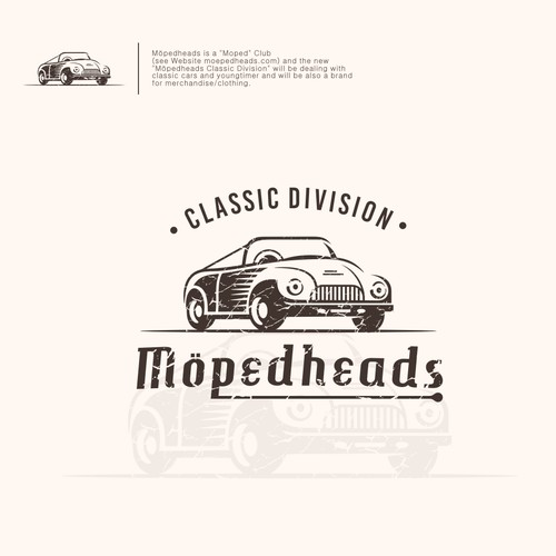 Logo for Möpedheads Classic Division