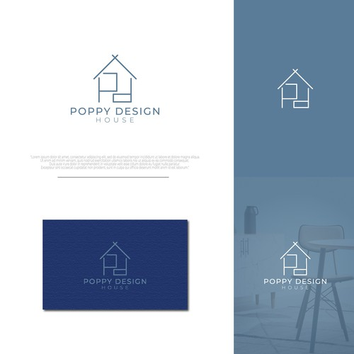 Hip, Sophisticated, Modern, and Simple Logo for Interior Design Company