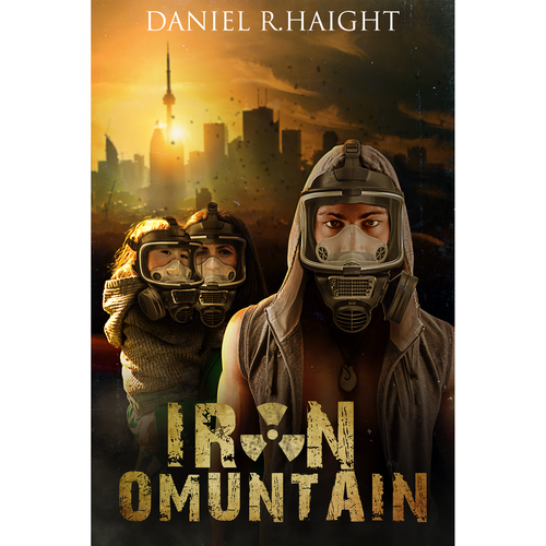 Cover for book apocalyptic sci IRON MOUNTAIN