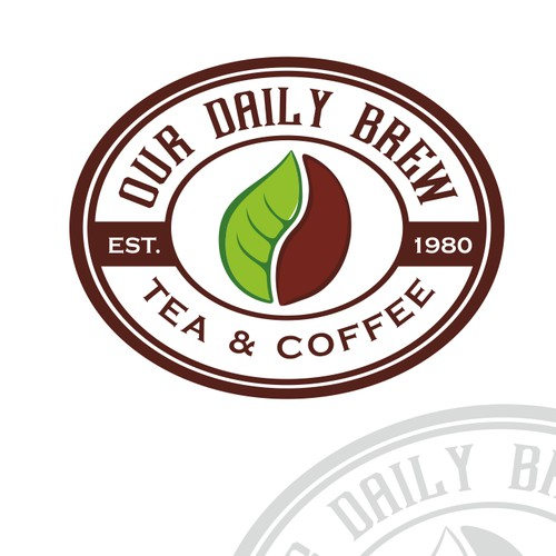Nice logo for Our Daily Brew